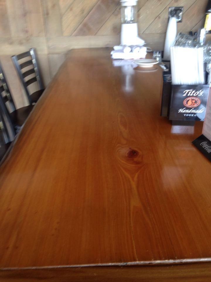 Sinker Cypress Wide Table